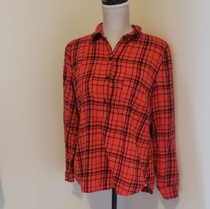 Old Navy 1/2 Button Up Top
